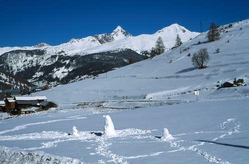 Grand Rochebrune and Agrenier