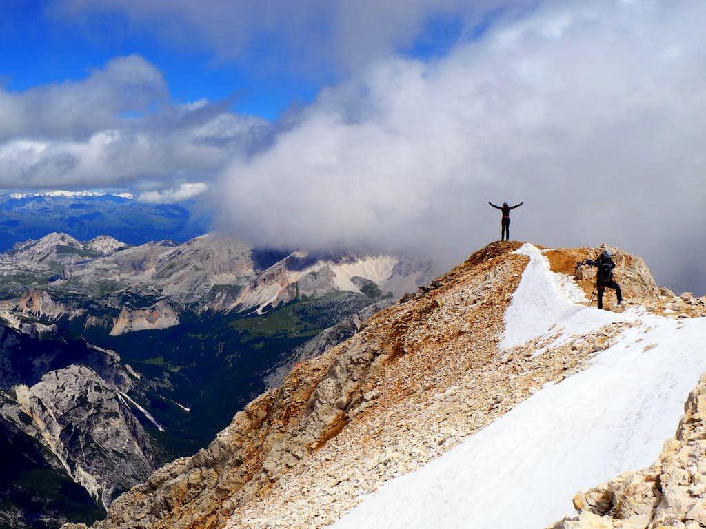 Tofana di dentro summit ridge