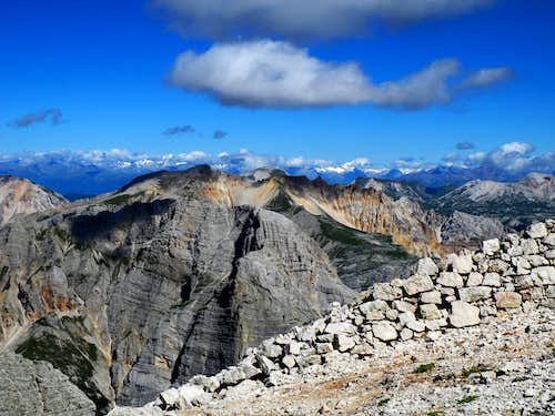 Majestic pano from Forcella Formenton, Tofana di Dentro