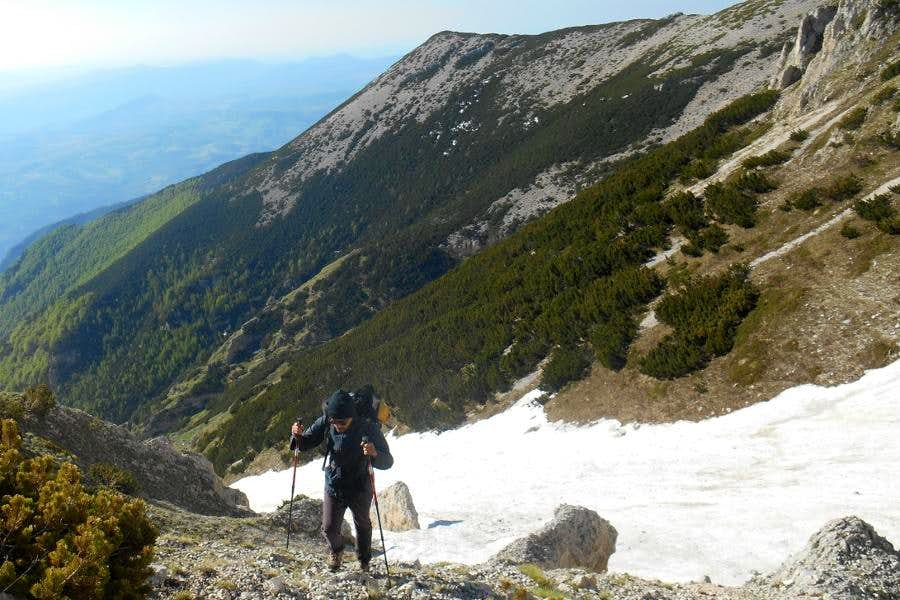 Valle di Acquaviva and Mt. Pizzone