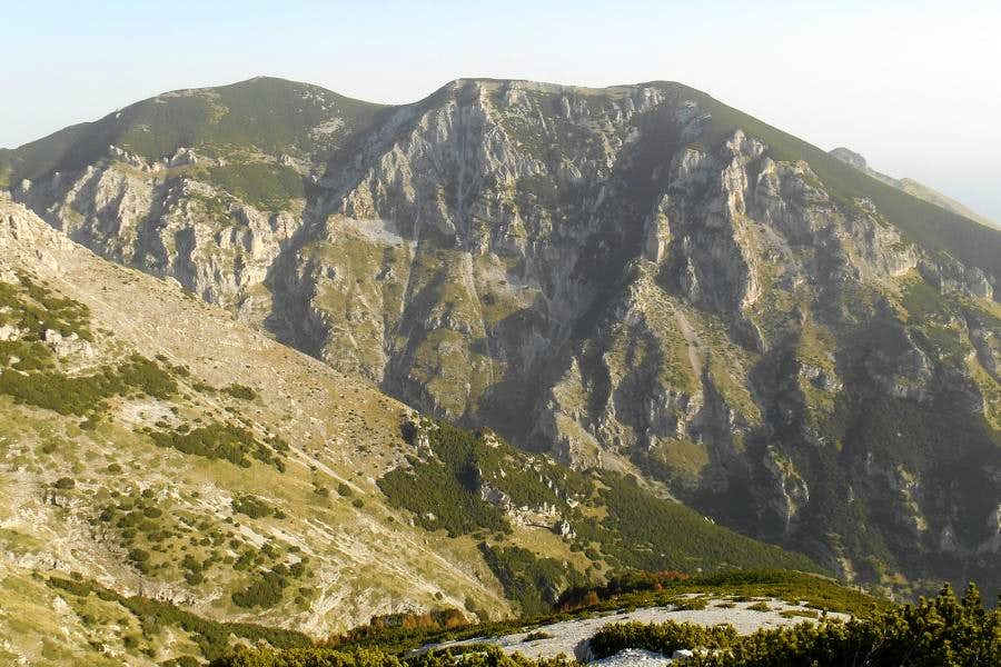 Mt. Martelles (seen from Mt. Pizzone)