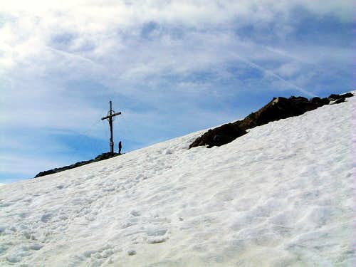 Orecchia di Lepre - Hasenhorl summit cross