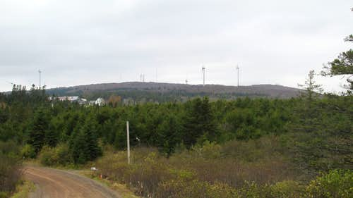 Nuttby Mountain, Nova Scotia