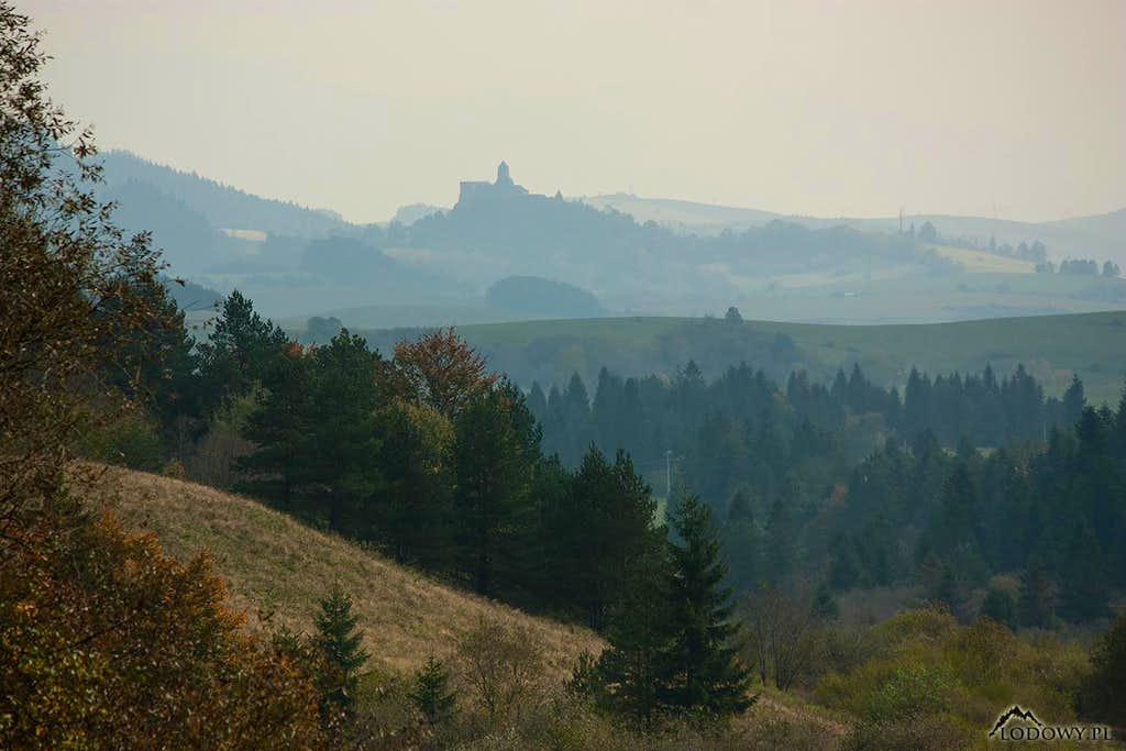 Stara Lubovna castle hill