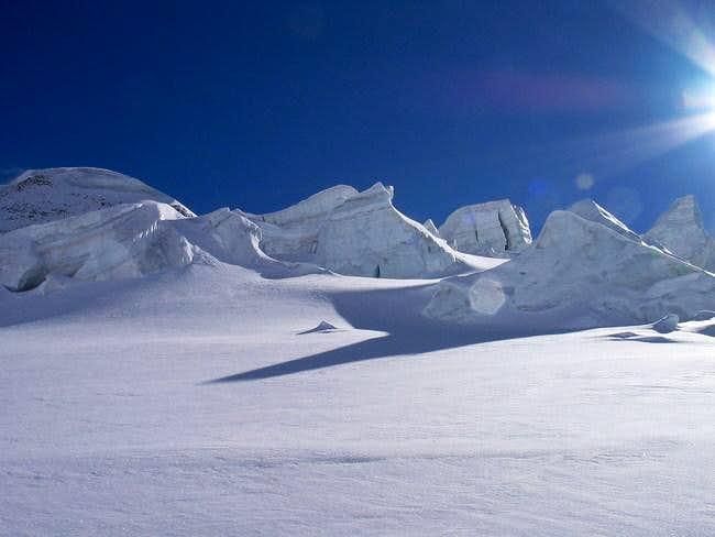 Ski Mountaineering going down...