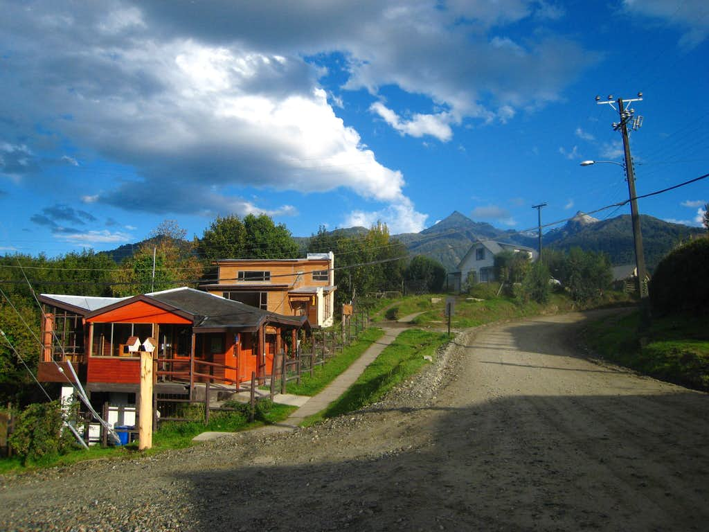Small houses in Cochamo