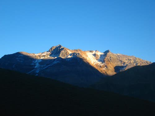 Sunrise on the Andes