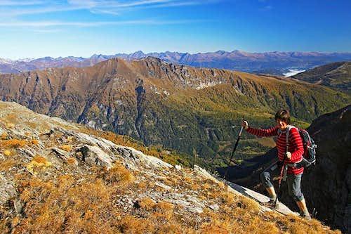 On the E ridge of Reitereck