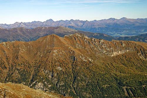 Reitereck NE panorama