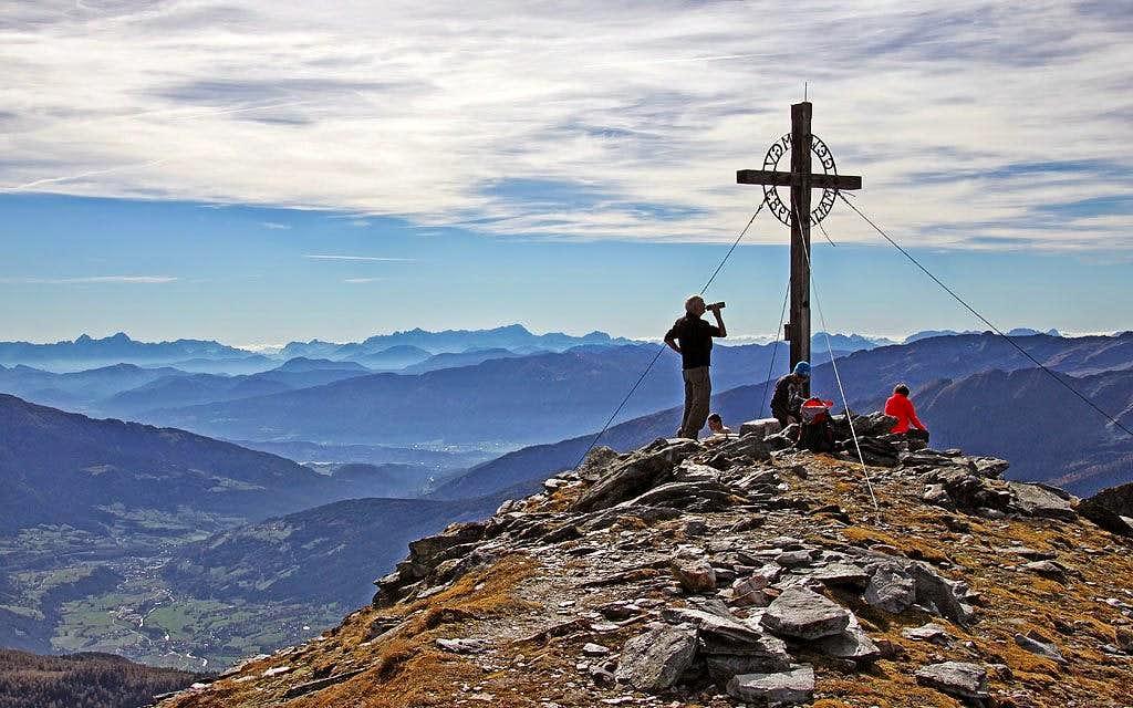 The summit of Reitereck