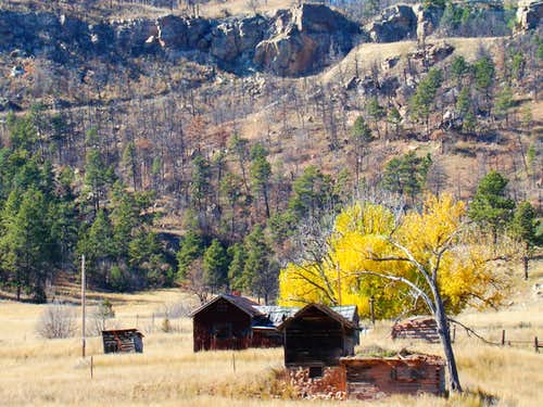 Abandoned Ranch in Red Canyon
