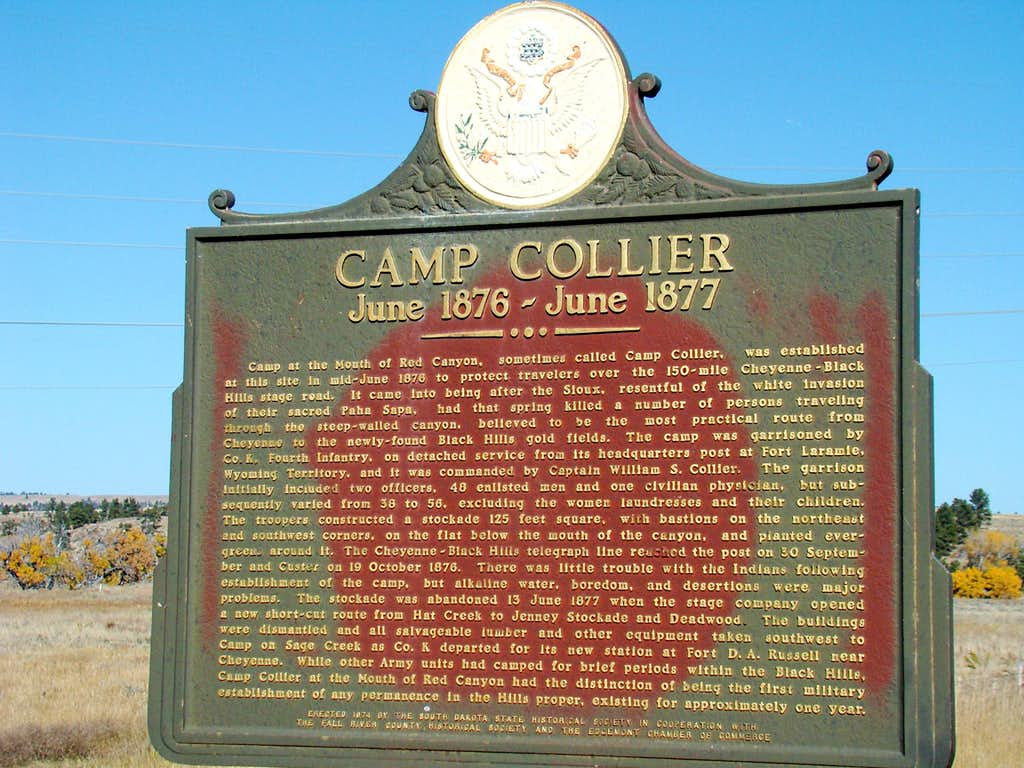 Camp Collier Site