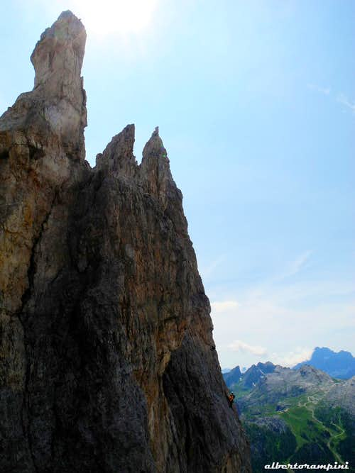 Castelletto summit needles