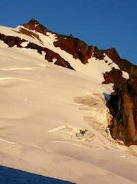 Sahale Peak in evening light...