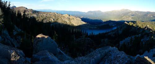 Becker Peak and Talking Mountain