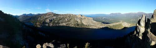 Talking Mountain and Becker Peak