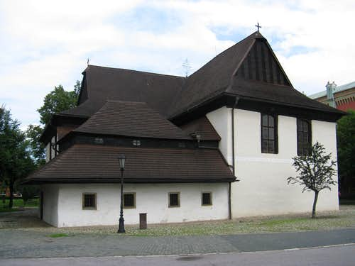 Wooden church in Kežmarok