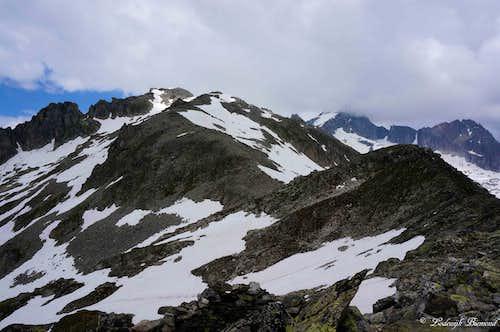 View from Furkastock to Furkahorn