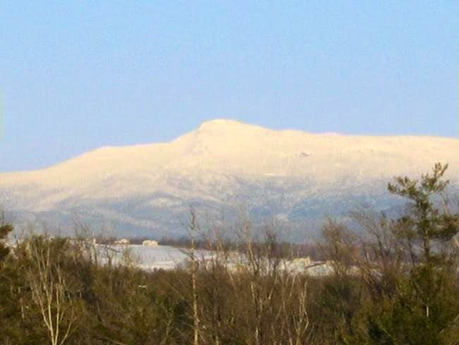 The Chin of Mt. Mansfield as...