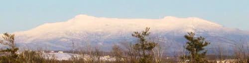 Mt. Mansfield from the West -...