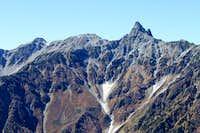 Mt. Yari from Ushikubi