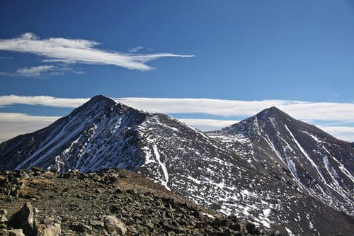 Torreys and Grays Peak