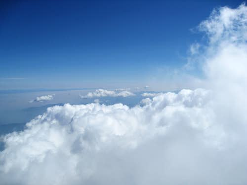 Clouds From Near Summit Plateau
