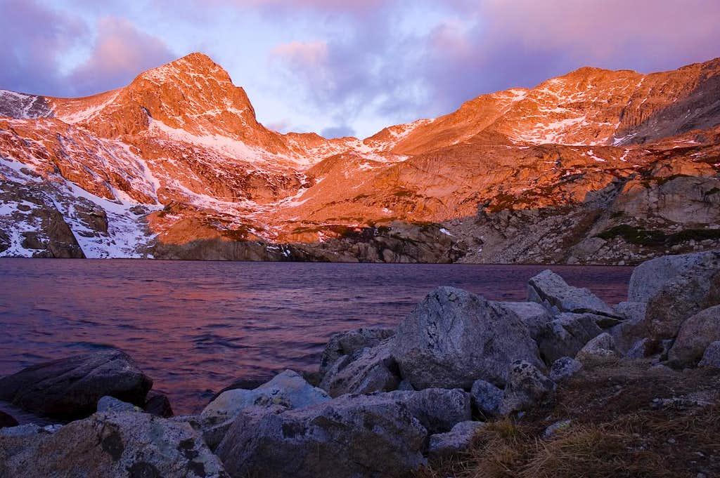 Sunrise on Mt Toll