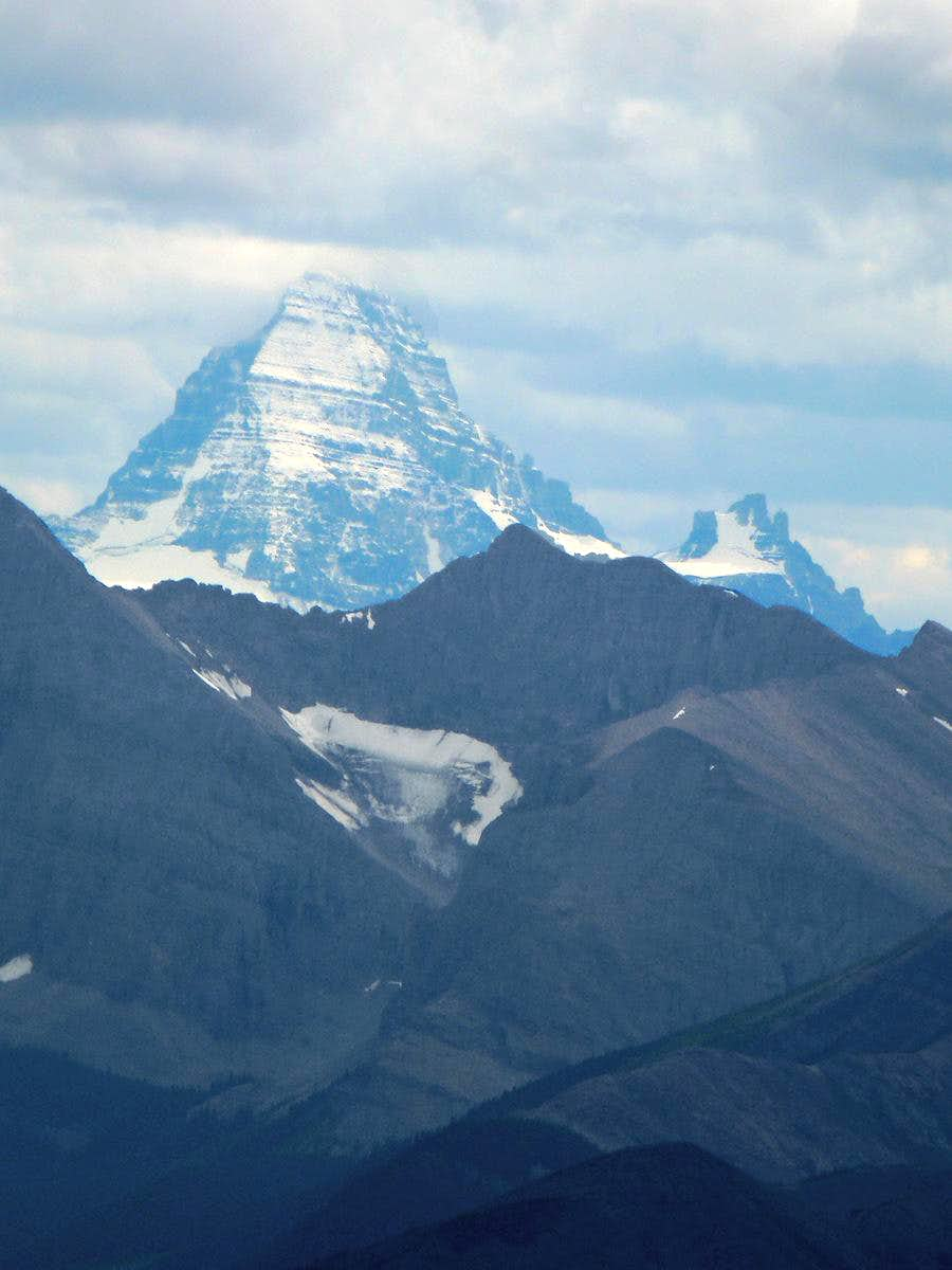 Assiniboine With a Fresh Dusting of Snow