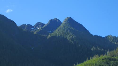 Jagged Mountain NW Aspect