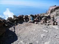 Bivouac Site at Orange Rock