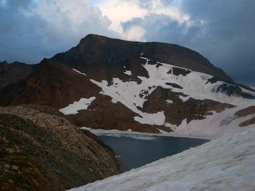 Mount Wilse and Grasshopper Glacier