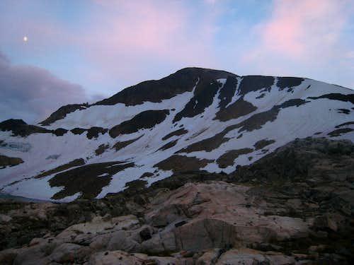 Iceberg Peak north face