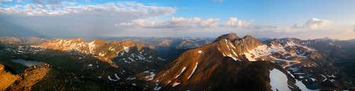 Iceberg Peak summit view