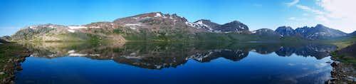 Goose Lake morning panorama