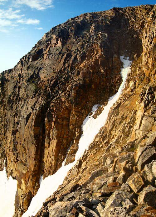 Iceberg Peak north couloir