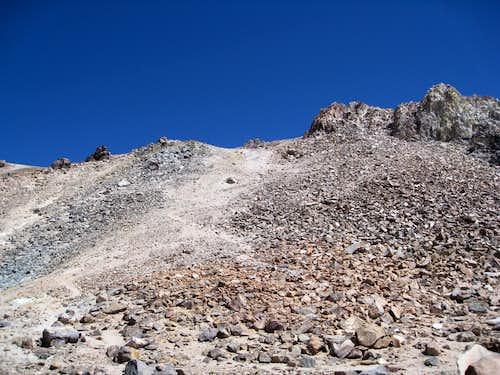 Trail Switch Backs to Summit