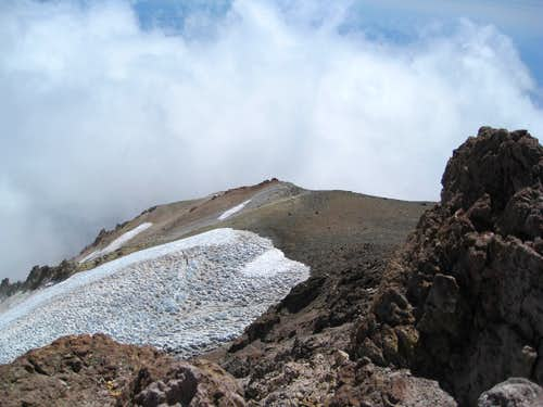 Wintun Glacier from near summit