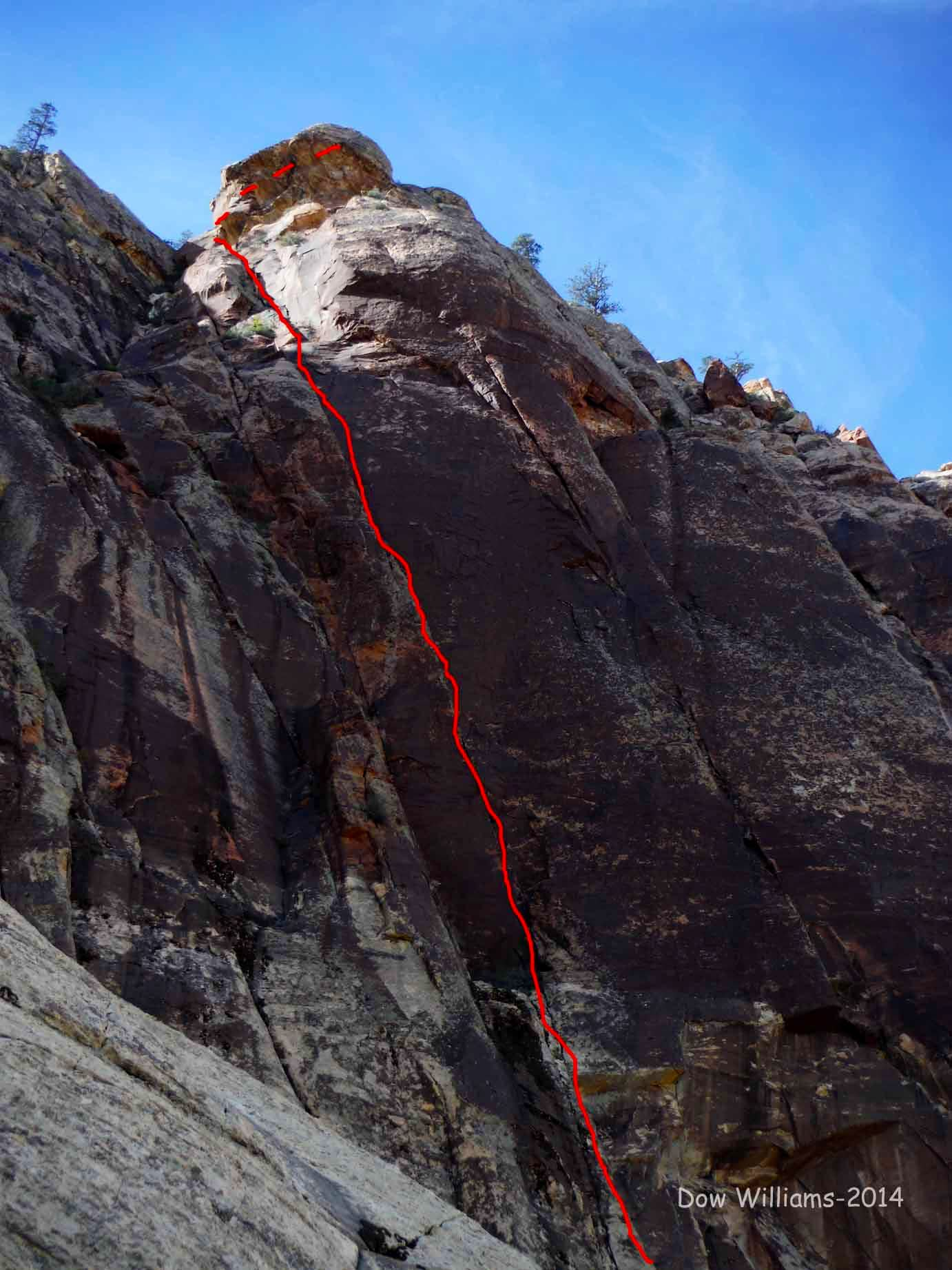 Impulse, 5.10b, 4 Pitches