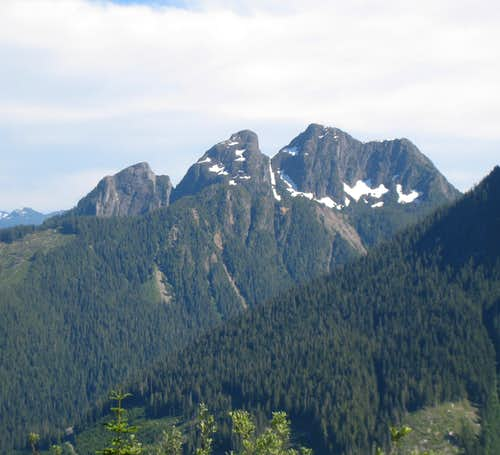 Queen Peak NW Aspect