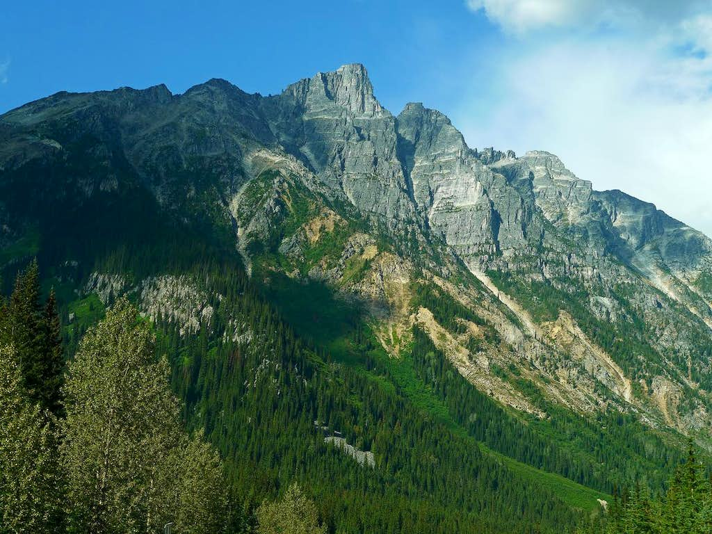 Mount Tupper from the Highway