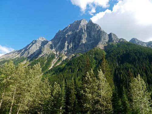 Mount MacDonald's Northwest Face