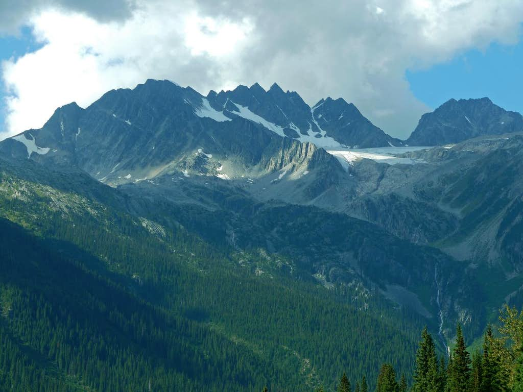 View from Rogers Pass