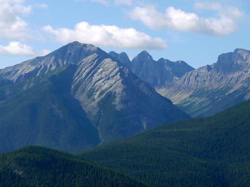 Peaks Across the Way