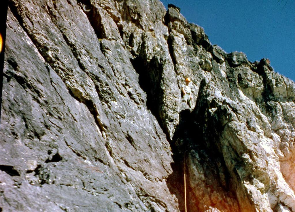 East Face Dye/Boyler Route 1962
