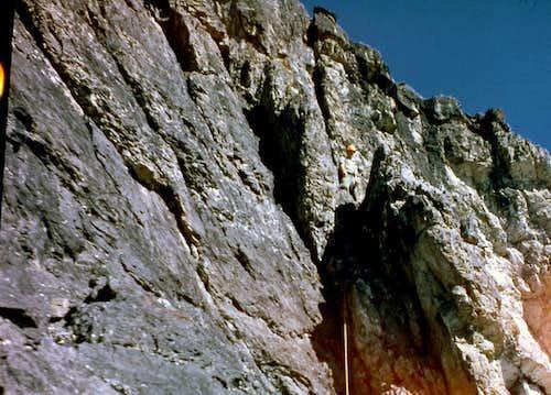 East Face Dye/Boyler Route 1962