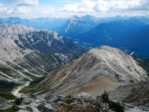 Myself Hiking Along the Ridge (Gimpilator)