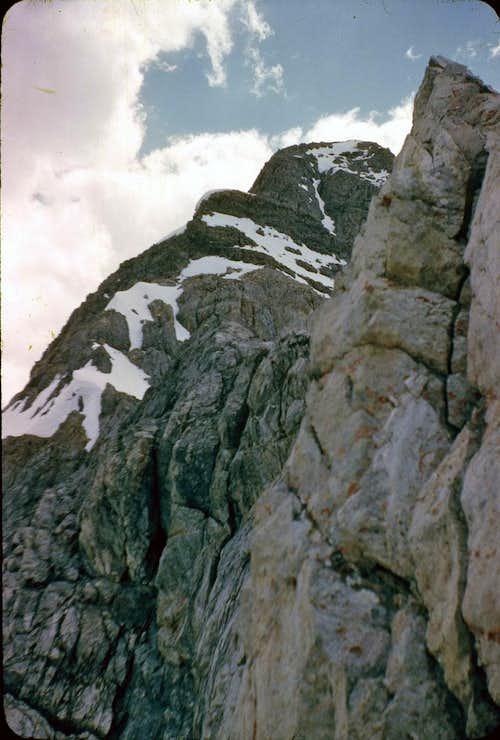 East Face Dye/Boyer Route 1962