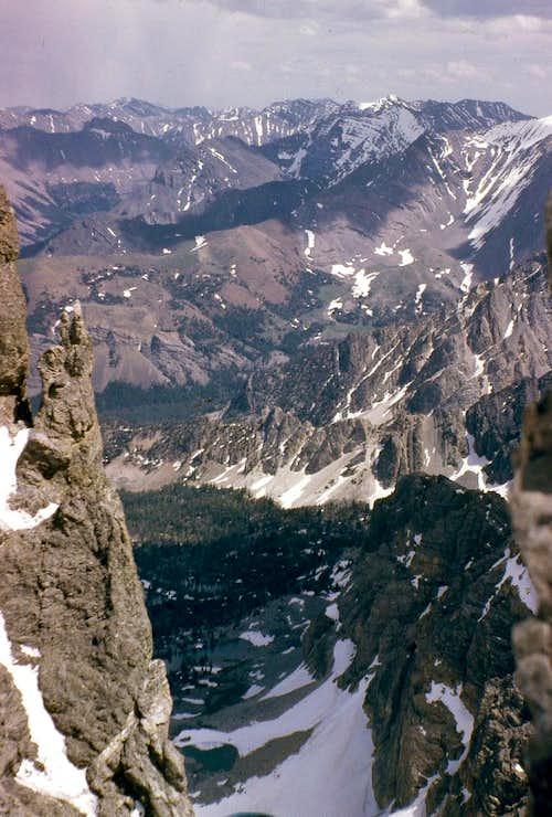East Face - Dye/Boyer Route 1962