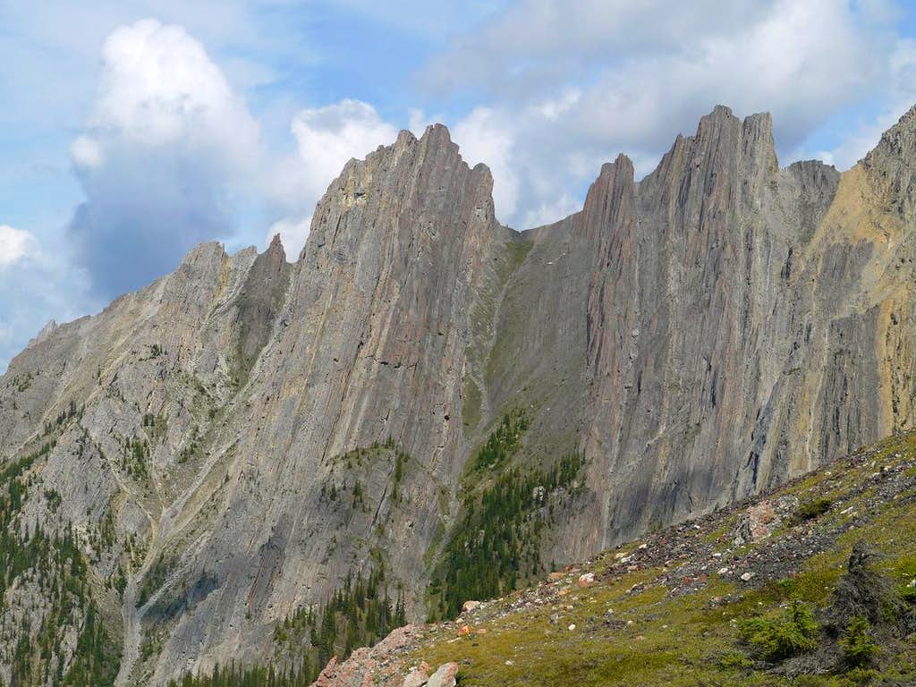 West Towers of Mount Cory